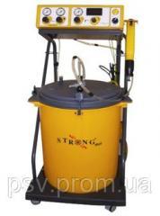 Boyama ve kurutma makinası