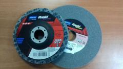 RAPID BLEND and RAPID FINISH grinding wheels