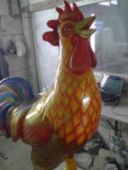 Rooster, New Year's toy