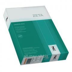 Бумага с водяными знаками Zeta Linen Ivory А4
