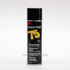 Glues aerosol