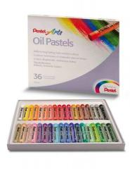 Пастель Pentel Oil Pastels PHN-36, количество