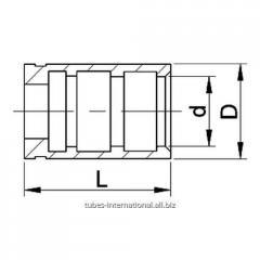 Втулка к шлангу ZC-FR5-04  алюминий