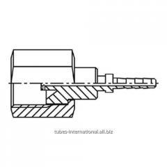 Внутренняя резьба UNF,  SAE,  конус 45°,  с...
