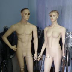 Dummy female Exposition, Kiev.