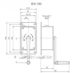 Ручные канатные лебедки WA 50; WA 100