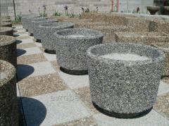Pot concrete colors for ORION