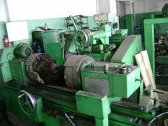 The circular grinding machine for repolishing of