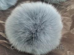 Помпон меховой Кролик