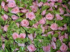 Розочка с листиками