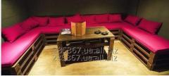 Мебель из поддонов,диван из поддонов,кровать из