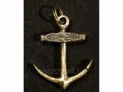 Anchor. Bronze suspension bracket.