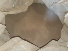 Powder polishing (corundum)