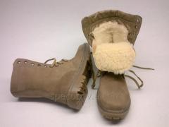 "Female berets ""BEIGE"" (Winter)"