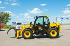 Diesel telescopic loader of JCB 531-70