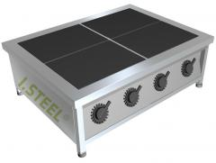 Four-ring electric stove desktop