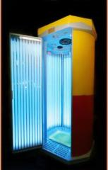 Sunbeds are vertical, the SPA equipmen