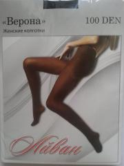 Tights female dense 100 den microfiber
