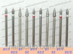 Mill - a nozzle for manicure diamond Kiev,