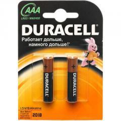 Батарейки Duracell LR03(AAA)