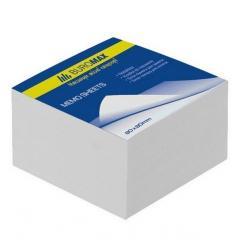 Блок белой бумаги Buromax JOBMAX 80х80х20мм,