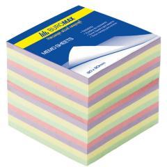 Блок бумаги для записей Buromax ДЕКОР 90х90х70