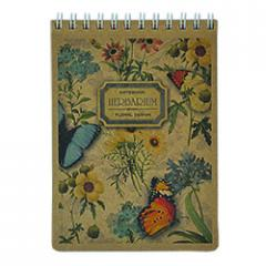 Notebook of Buromax KRAFT A6, 80 l., cage (BM.2481)