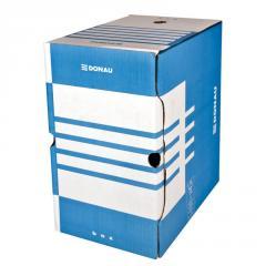 Бокс для архивации документов Donau, 200мм, синий (7663401PL-10)