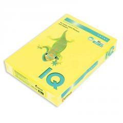 Бумага цветная неон. Mondi IQ, А4/80, 500л. NEOGB, желтый