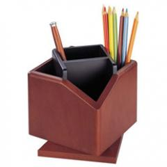 The rotating wooden support for pencils and Bestar (2059DDV) handles