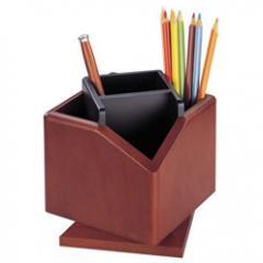 Вращающаяся деревянная подставка для карандашей и ручек Bestar (2059DDV)