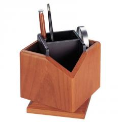 The rotating book wooden holder of Bestar (2059DDY) Light cherry