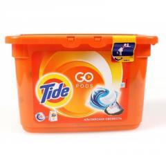 Гель для стирки-автомат в капсулах Tide 15X25.2г Альпийская свежесть