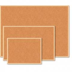 Board pith Buromax 90 x 120 cm wooden frame (BM.0015)
