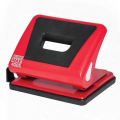 Puncher plastic with a rubber insert of Buromax of 15 l. red (BM.4005-05)