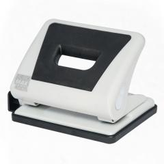 Puncher plastic with a rubber insert of Buromax of 15 l. gray (BM.4005-09)