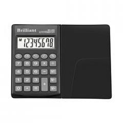 Brilliant BS-200x calculator 8th digit, 1 type of