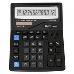 Калькулятор Brilliant BS-888М 12р.,  2-пит