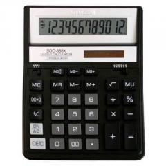 Citizen SDC-888 XBK calculator of 12 digit, black