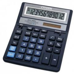 Citizen SDC-888 XBL calculator of 12 digit, blue