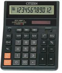Citizen SDC-888T calculator 12 digi