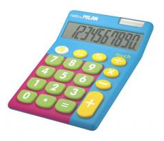 Calculator, 10 razradny, Milan TOUCH MIX Rubber Touch (ml.159906TM)