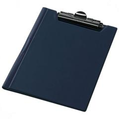 Clipboard folder of Panta Plast A4 PVC, dark blue (0314-0003-02)