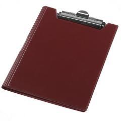 Клипборд-папка Panta Plast А4 винил, бордовый (0314-0002-10)