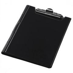 Клипборд-папка Panta Plast А4 винил, черный (0314-0002-01)
