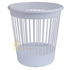 Basket office Arnica for papers of 10 l., plastic, white