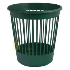 Basket office Arnica for papers of 10 l., plastic, green (82066)