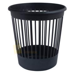 Basket office Arnica for papers of 10 l., plastic, black