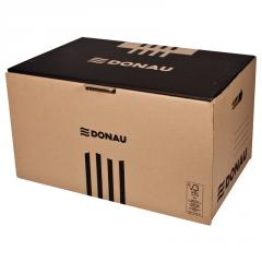 Box for archival boxes of Donau Front, brown (7667301PL-02)