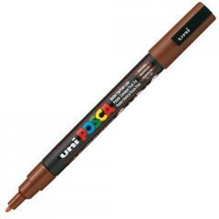 Маркер UNI POSCA 0.9-1.3мм, коричневый